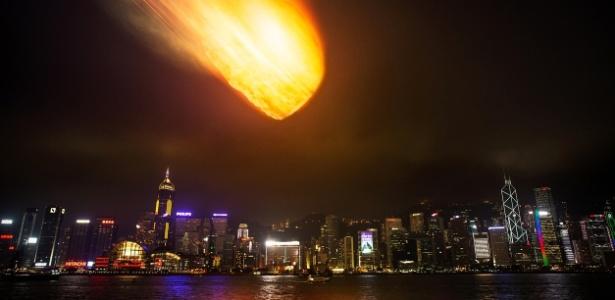 Um asteroide de 100 metros de diâmetro (o comprimento de um campo de futebol) que atingisse a Califórnia destruiria cidades e mataria dezenas de milhares de pessoas