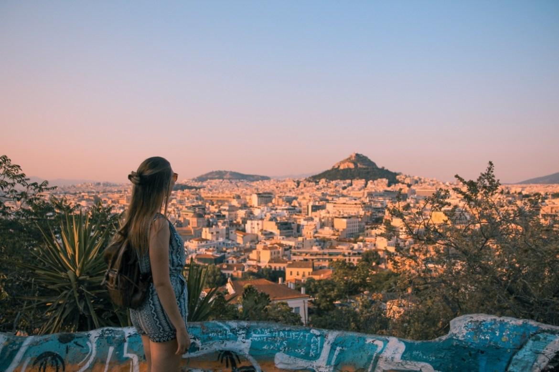 Vue d'Athènes