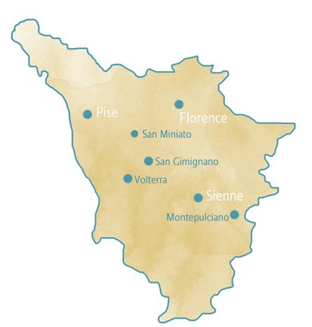 Carte Toscane