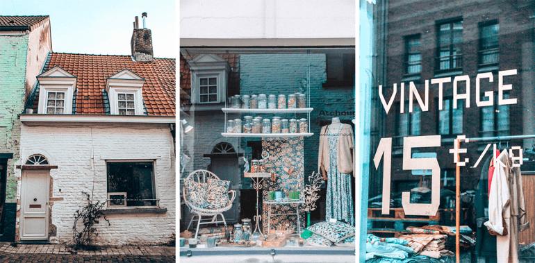 boutiques Marolles Bruxelles