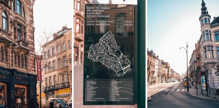 Schaerbeek à pied - découverte Bruxelles