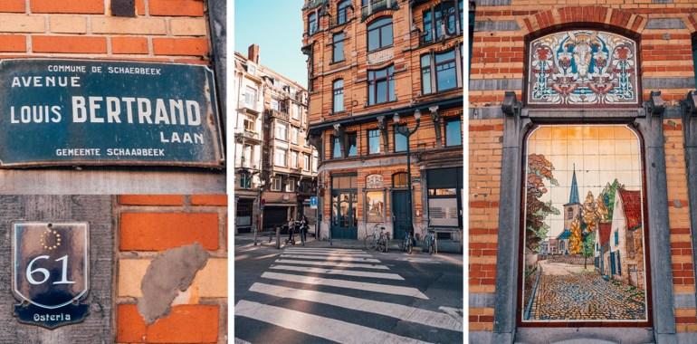 Schaerbeek avenue Louis Bertrand