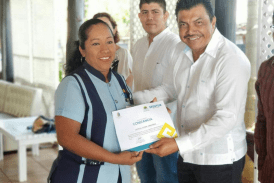 RECONOCEN LA CAPACITACIÓN DE PRESTADORES DE SERVICIOS EN CHETUMAL