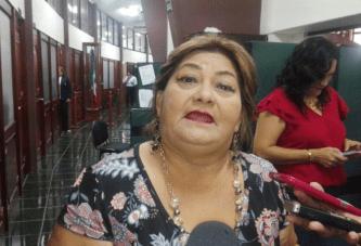 NEFASTO EL GOBIERNO DE  ALEXANDER  ZETINA EN BACALAR: NELIA UC
