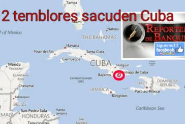 2 TERREMOTOS SACUDEN A CUBA, NO HAY PÉRDIDAS