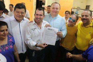 DA ESPALDARAZO PRD ESTATAL A SUS CANDIDATOS A LAS PRESIDENCIAS MUNICIPALES