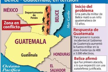 TENSIÓN MILITAR ENTRE BELICE Y GUATEMALA