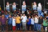 EN CALDERITAS SE SUMAN AL PROYECTO DE LUIS TORRES