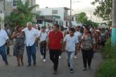 VECINOS DE LA COLONIA LAGUNITAS SIMPATIZAN CON MANUEL VALENCIA