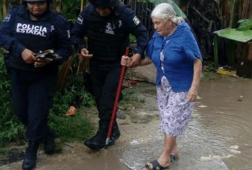 SSP DE  Q ROO, ALERTA PARA AYUDAR  A LA POBLACIÓN EN CASO SE REQUIERA