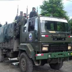 Militarización de la Seguridad Pública