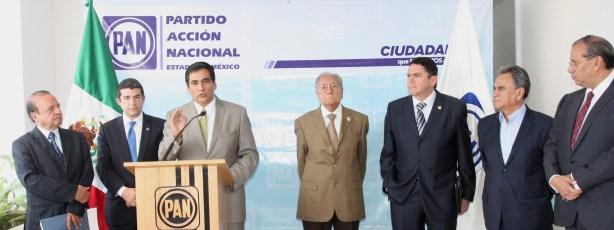Javier Paz, Mauricio Tabe, Sergio Alvarez, Astolfo Vicente, Juan Carlos Núñez Armas y Francisco Gárate