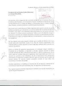 ENTREGA DE DOCUMENTO A LOS PINOS 001