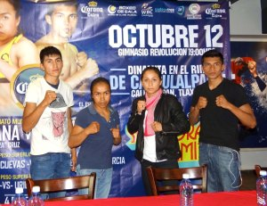 Juan Carlos Villegas, Susana Cruz, Yesenia Gómez y Mario Cuevas