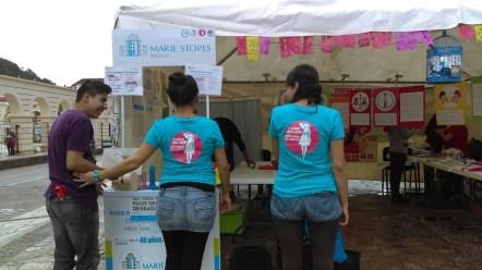 Feria salud sexual Chiapas