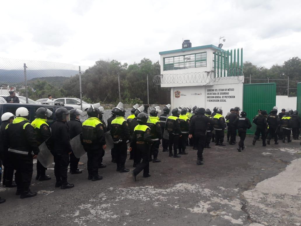 REOS DE TEXCOCO QUERÍAN SER TRASLADADOS A OTRA CÁRCEL PORQUE LOS EXTORSIONAN