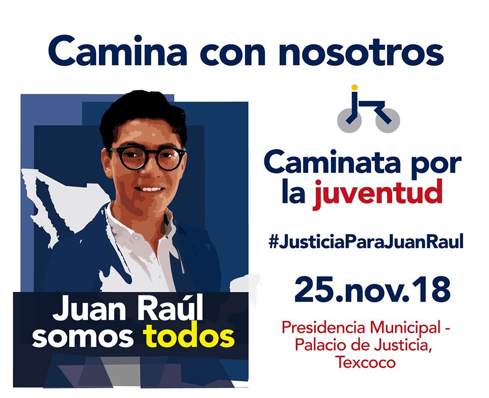 SECUESTRO Y ASESINATO DE JUAN RAÚL EN TEXCOCO SE CONVERTIRÁ EN UNA ALERTA PARA LA JUVENTUD
