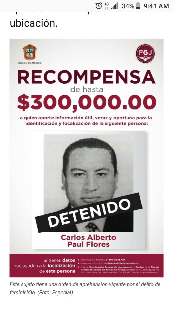 """FEMINICIDA ERA MAESTRO DE LA UNIVERSIDADDE CUAUTITLAN Y TAMBIÉN""""MADRINA"""" DE LA MINISTERIAL DEL EDOMEX"""