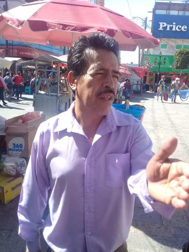 Reyes Arturo Cervantes Luna jefatura de tianguis 2019-2021 III
