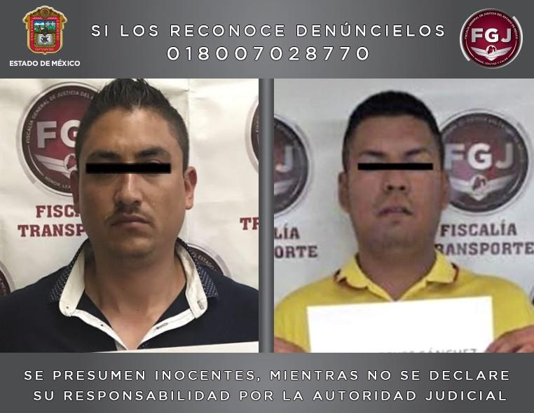DETENIDOS TEXCOCO