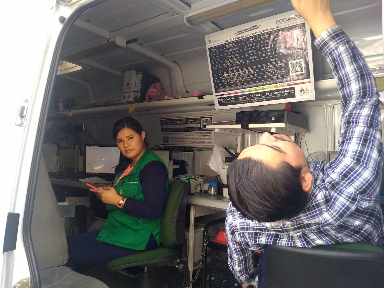 En Texcoco Unidad Móvil Para Tramitar Licencias De Manejo