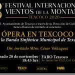 """TODO UN ÉXITO """"El Octavo festival Internacional Vientos de la Montaña Texcoco 2020"""" SIN SALIR DE CASA"""