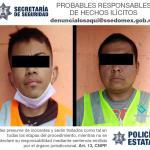 SECRETARÍA DE SEGURIDAD RECUPERA RETROEXCAVADORA ROBADA Y DETIENE A DOS POSIBLES RESPONSABLES DEL ILÍCITO