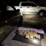 LOCALIZAN MÁS DE 14 KILOS DE DROGA CRYSTAL EN LA ZONA DE LA BOLSA DE AIRE DE UN VEHÍCULO EN DURANGO