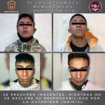 INICIAN PROCESO LEGAL EN CONTRA DE CUATRO SUJETOS POR EL ASALTO A UNA TIENDA ELEKTRA EN TEXCOCO