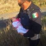 ABANDONAN A BEBÉ A LA ORILLA DE LA MÉXICO – QUERÉTARO
