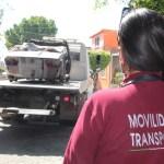 EN ECATEPEC RETIRAN 885 CARROS CHATARRA DE SUS CALLES