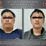 DETIENEN ELEMENTOS DEL GTO A DOS SUJETOS INVESTIGADOS POR UN ROBO CON VIOLENCIA EN NEZAHUALCÓYOTL