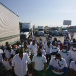 Tome sus precauciones!! Choferes piden regulación de grúas y bloquean la México – Puebla