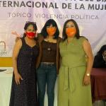 EN ENCUENTRO DE MUJERES RECONOCEN QUE HAY VIOLENCIA POLÍTICA EN EL EDOMÉX