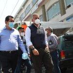 Para exigir que cese el hostigamiento por parte de la fiscalía el alcalde de Ecatepec realiza ayuno frente a la dependencia