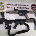 CATEA FGJEM INMUEBLE EN TLALNEPANTLA DONDE FUERON ASEGURADAS CUATRO ARMAS DE FUEGO Y ENVOLTORIOS CON DROGA
