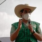 MARIO AGUILAR CANDIDATO DEL VERDE A DIPUTADO ESTABLECIÓ EN OZUMBA QUE SE DEBE DE APOYAR AL CAMPO