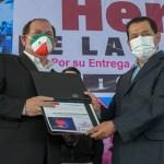 ENTREGA ALCALDE JUAN HUGO DE LA ROSA 1680 RECONOCIMIENTOS A PERSONAL DE LA SALUD, CIENTÍFICOS Y SERVIDORES PÚBLICOS DE LOS TRES ORDENES DE GOBIERNO, POR SU ARDUA LABOR EN LA CONTENCIÓN DE LA PANDEMIA EN NEZAHUALCÓYOTL