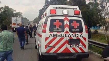 En esta ambulancia llegaron a asesinar a paciente