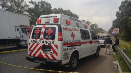 Paramédico lesionado fue trasladado a la Cruz Roja de Polanco
