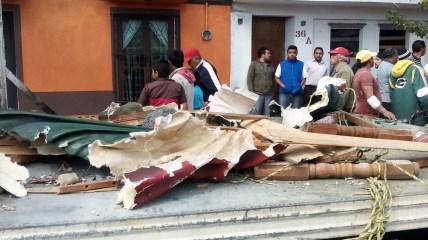 Así quedaron los santos tras la explosión en Barrio San Juan