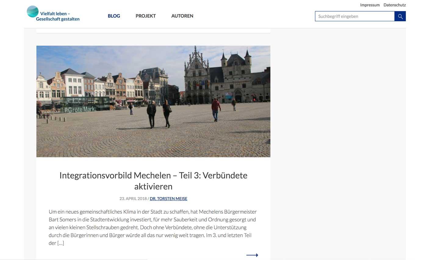 Blog Vielfat Leben, Mechelen