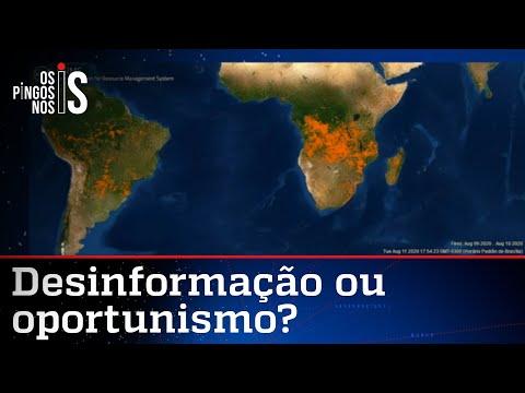 Amazônia não está em chamas, mas a África está