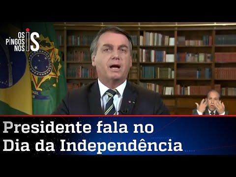 Íntegra do pronunciamento de Bolsonaro no 7 de Setembro