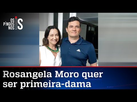 Mulher de Sergio Moro alimenta campanha do marido