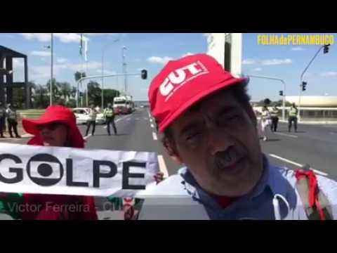 [Política] Folha de Pernambuco acompanha manifestações em Brasília