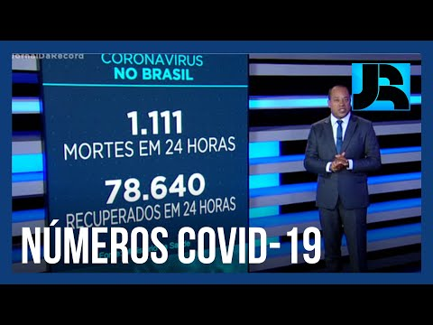 Coronavírus: Brasil registra 192.681 mortes, 1.111 nas últimas 24 horas