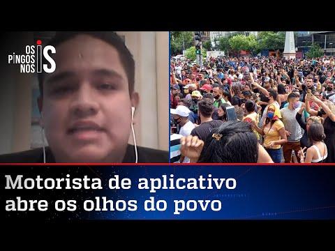 Líder dos protestos em Manaus conversa com Os Pingos nos Is