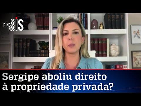 Thaméa Danelon analisa polêmico decreto do governo de Sergipe