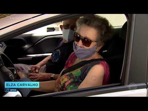 São Paulo dá início à vacinação de idosos entre 77 e 79 anos